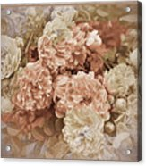 Earth Toned Roses Acrylic Print