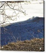 Earth Water And Ice Acrylic Print