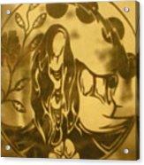 Earth Woman Acrylic Print by Austen Brauker