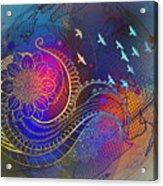 Earth, Zen, Peace 2 Acrylic Print