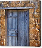 Earthen Colors Acrylic Print