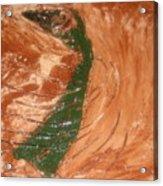Earths Wind - Tile Acrylic Print