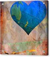 Earthy Heart Acrylic Print