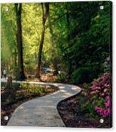 Earyl Morning Walk Through Honor Heights Park Acrylic Print