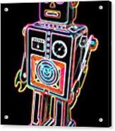 Easel Back Robot Acrylic Print