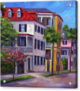 East Bay - Charleston  Acrylic Print