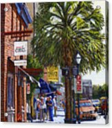 East Bay St. Charleston Sc Acrylic Print