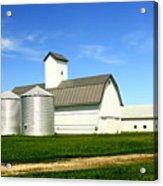East Central Illinois Farm Buildings By Earl's Photography Acrylic Print