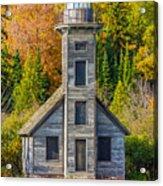 East Channel Lighthouse Acrylic Print