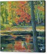 East Coast Autumn Acrylic Print
