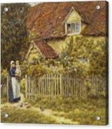 East End Farm Moss Lane Pinner Acrylic Print
