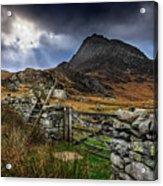East Face Tryfan Snowdonia Acrylic Print