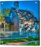 East Hampton Antique Cottage Acrylic Print