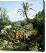East Landscape Henryk Semiradsky Acrylic Print