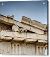 East Pediment - Parthenon Acrylic Print