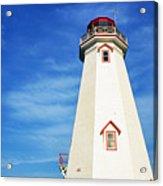 East Point Lightstation Prince Edward Island Acrylic Print