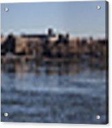 East River Panorama Acrylic Print