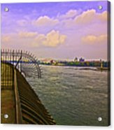 East River View Looking North Acrylic Print