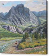 East Rosebud Montana Acrylic Print