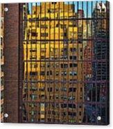 East Side Reflection Acrylic Print