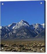 East Side Sierra Nevada Range Acrylic Print