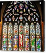 East Stained Glass Window Christ Church Cathedral 1 Acrylic Print