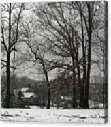 East Tennessee Winter Acrylic Print