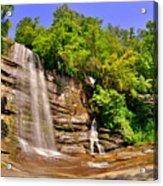 Eastatoe Falls/twin Falls 2 Acrylic Print