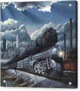 Eastbound Twentieth Century Limited Acrylic Print