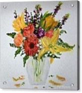 Easter Arrangement Acrylic Print