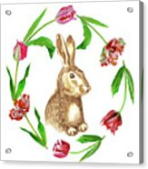 Easter Background Acrylic Print