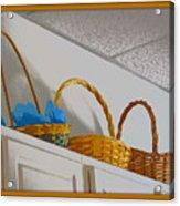 Easter Baskets Acrylic Print