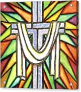 Easter Cross 5 Acrylic Print