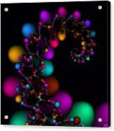 Easter Dna Galaxy 111 Acrylic Print