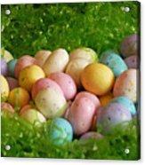 Easter Egg Nest Acrylic Print