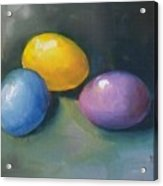 Easter Eggs No. 1 Acrylic Print