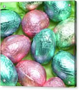 Easter Eggs Viii Acrylic Print