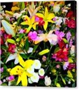Easter Flowers Acrylic Print