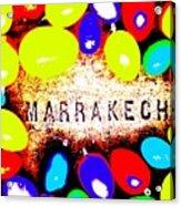 Easter In Marrakech Acrylic Print