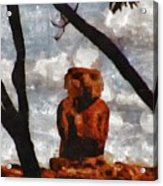 Easter Island Acrylic Print