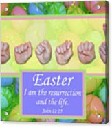 Easter Acrylic Print