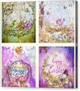 Easter Mood Collection Acrylic Print