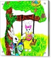 Easter Show Some Bunny Love Acrylic Print