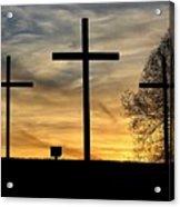 Easter Sunset Acrylic Print