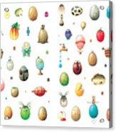 Eastereggs Acrylic Print