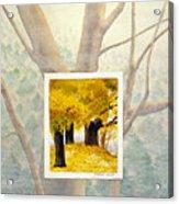 Eastern Autumn Acrylic Print