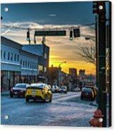Eastern Avenue Sunset Acrylic Print