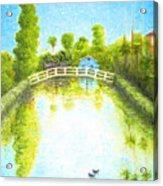 Eastern Canal Impression Acrylic Print