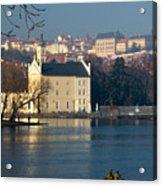 Eastern European Fishing Acrylic Print