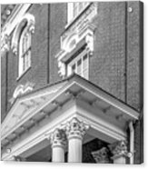 Eastern Kentucky University Crabbe Library Detail Acrylic Print by University Icons